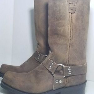 Double H harness motorcycle boot # 4004 men's 9.5